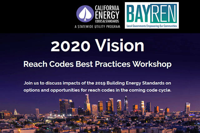 2020 Vision Reach Codes Best Practices Workshop Presentation Cover Slide - October 9, 2018