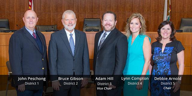 2019 San Luis Obispo County Board of Supervisors